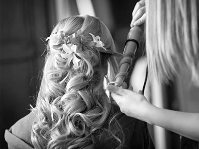 Amanda Wedding Hair and Makeup Longlush Curls